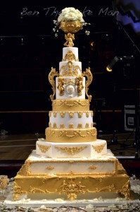 royal wedding cake | ben the cake man