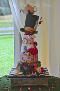 alice in wonderland cake | ben the cake man