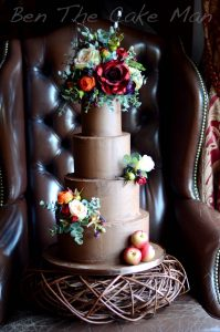 rustic|ganache|wedding|cake|ben the cake man