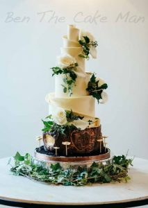 Rustic wedding cake|ben the cake man