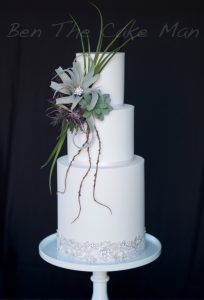Botanical wedding cake|ben the cake man