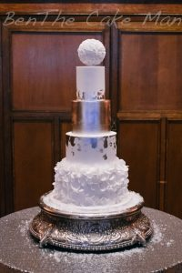 Winter wedding cake|ben the cake man
