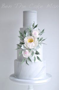 marble wedding cake|ben the cake man