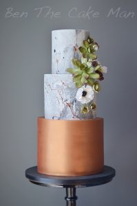 Copper and concrete|ben the cake man