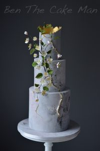 concrete wedding cake|Ben the cake man