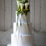 calla lily contemporary | ben the cake man
