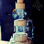 Crystal wedding cake | Ben the cake man